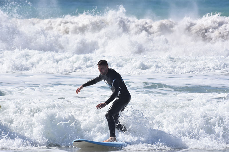 what you will learn during our surf course for intermediates?